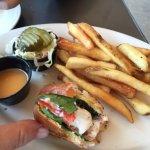 Zippy shrimp bruschetta Was a delicious delicious appetizer!