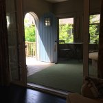 Screened Porch of One Bedroom Bungalow