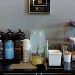 lobby coffee station A