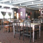 """The restaurant interior.  Looked very """"New Orleans"""">"""