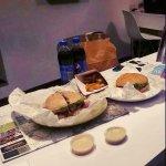 Kuryłek Dream and Burak di Capra, fries and sauces