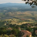 View of the famed Tuscany landscape