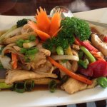 Chicken with Oyster Sauce.