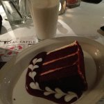 A nice slab of Red Velvet to end the meal. Some info on cuts of meats.