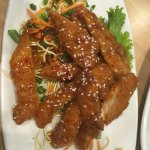 Thai chicken bits