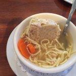 Matza ball soup!