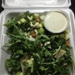 Arugula Salad w/ the wrong dressing