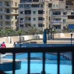 A view from the room (Swimming pool area)