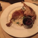 Duck and lamb chops