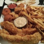 Fried Trio (Fish, Shrimp, and Oysters)