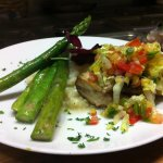 Grilled Mahi with Pineapple Salsa