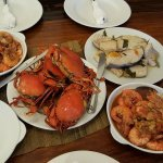 our home cooked fresh seafoods YUM!