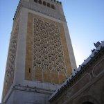Le minaret de la Mosquée Zitouna