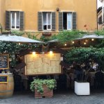 Dining in Trastevere