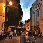 Evening scene in Trastevere
