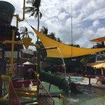 Kids pool / waterslide
