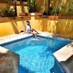 Private pool in Breadfruit Suite