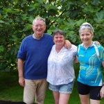 John, Fiona et Marie-France