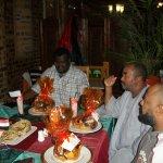Sudanees farewell dinner