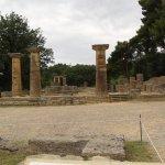 Древняя Олимпия. Место,где зажигается олимпийский огонь