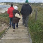 Beach Walk ... Pay attention to Layers. Pack smartly. You are gonna need them.