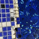 Mosaik am Pool