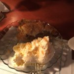 Cheesy Mac and Apple Pie. Apple Pie comes from the candy shop across the street, or so we were t