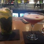 Passion Fruit Mojito and French Martini