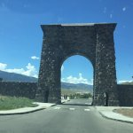 Loved seeing this .. one of the very first entrances into Yellowstone!