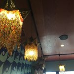 Great Middle Eastern food and decor.