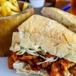 South Western bbq Chicken sanwhich