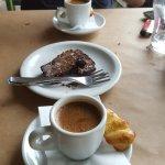 great greek coffee and dessert