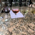 Paid flight of wine