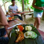 Farm to table lunch at Finca Raices
