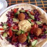 Vegan Flatbread option available on the new summer menu