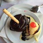 Amazing food with fab desserts, we have been coming marios for years and you will not be disappo