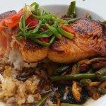 Ponzu Glazed Salmon