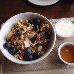 Breakfast - granola.