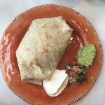 Delicious AND filling. So many choices - so the simple burrito it was - no regrets!