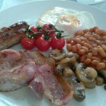 full english breakfast at jedburgh guest house