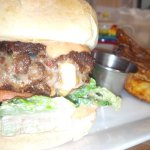 Nacho Burger!  Not to be missed!