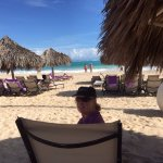 Paradisus is right on the beach in Punta Cana
