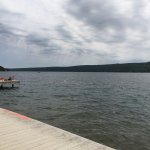 Bath is close to Keuka Lake (trail of bananas ??) which is an awesome place to swim and sail or