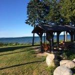 Cabin, lake, pool
