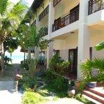 Area hotel yang menghadap pemandangan laut