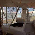 Honeymoon suite - bed