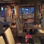 Das Restaurant und die wunderschöne Terrasse