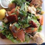 Salade du jour pour le déjeuner