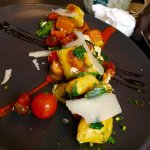 Gnocchi. What a beautiful combo of taste, colours and textures.