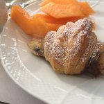 Nice breakfast with Nutella croissant but when you pay a high price for a suite the hotel should
